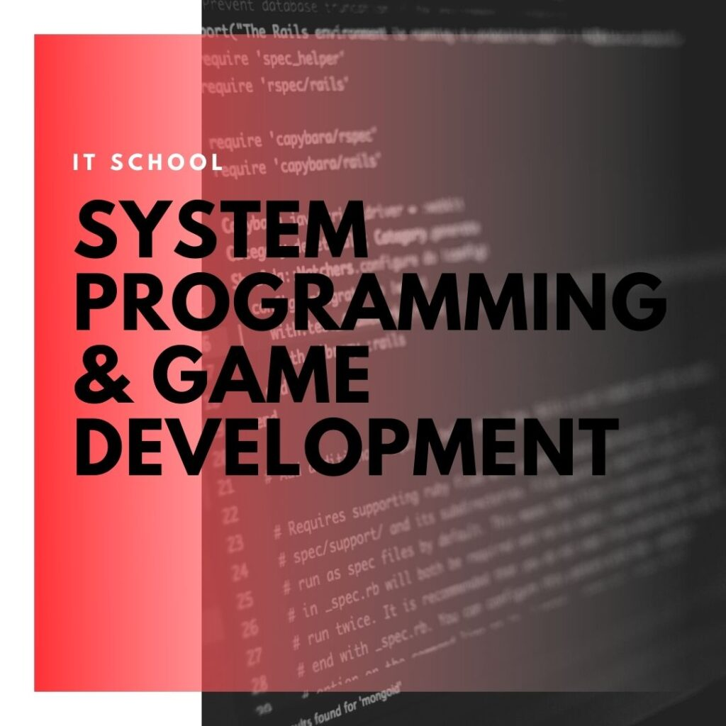 Institute of Technology - In Canada - ITD Canada - System Programming & Game Development Network Administration