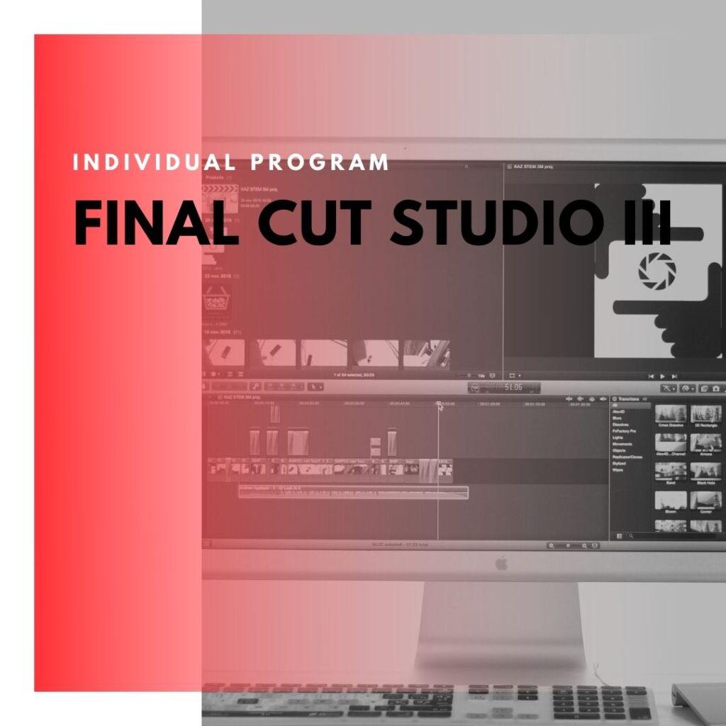 Institute of Technology - In Canada - ITD Canada - Final Cut Studio III