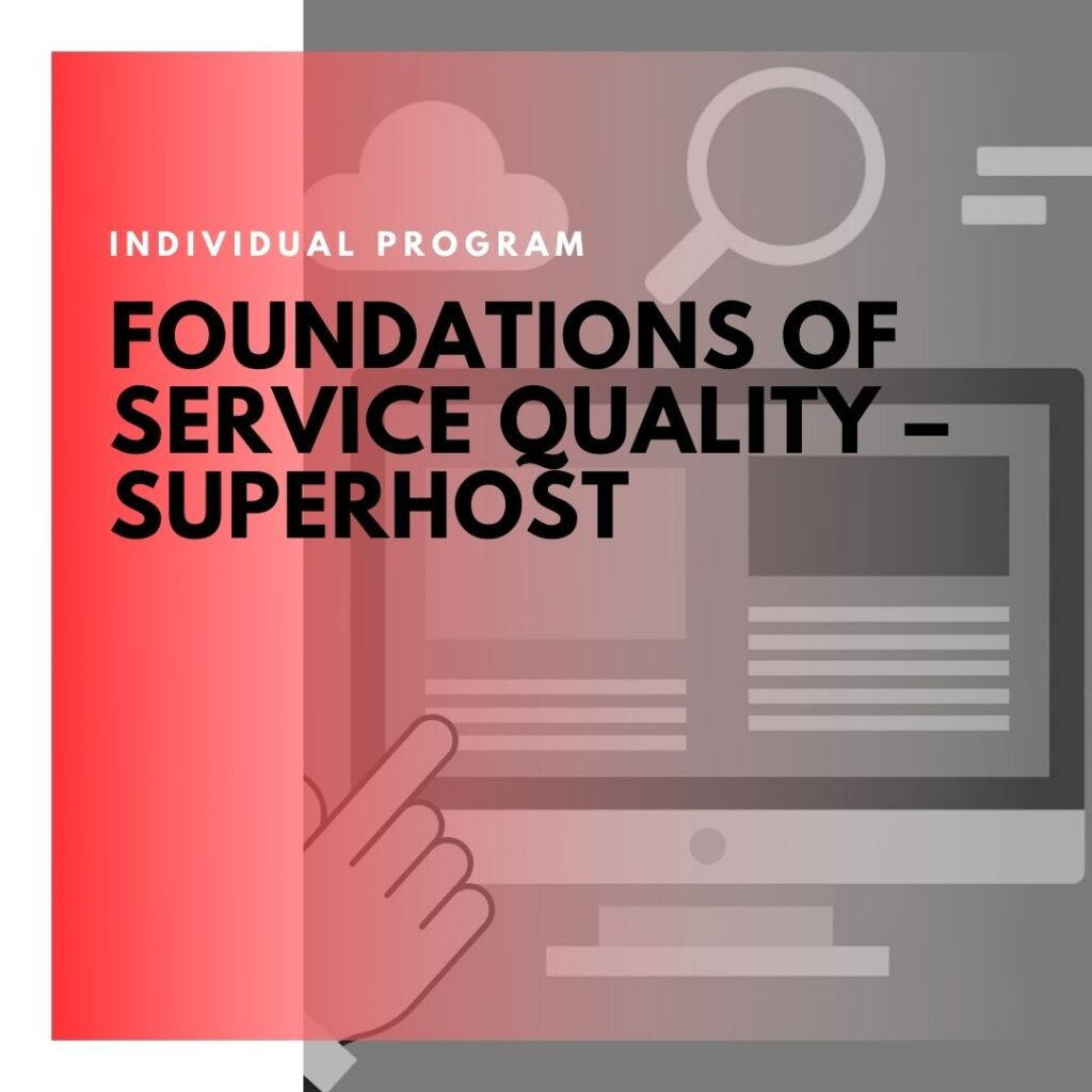 Institute of Technology - In Canada - ITD Canada - Foundations Of Service Quality Superhost
