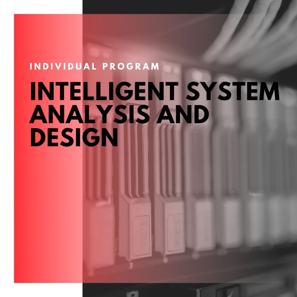 Institute of Technology - In Canada - ITD Canada - Intelligent Systems Analysis And Design