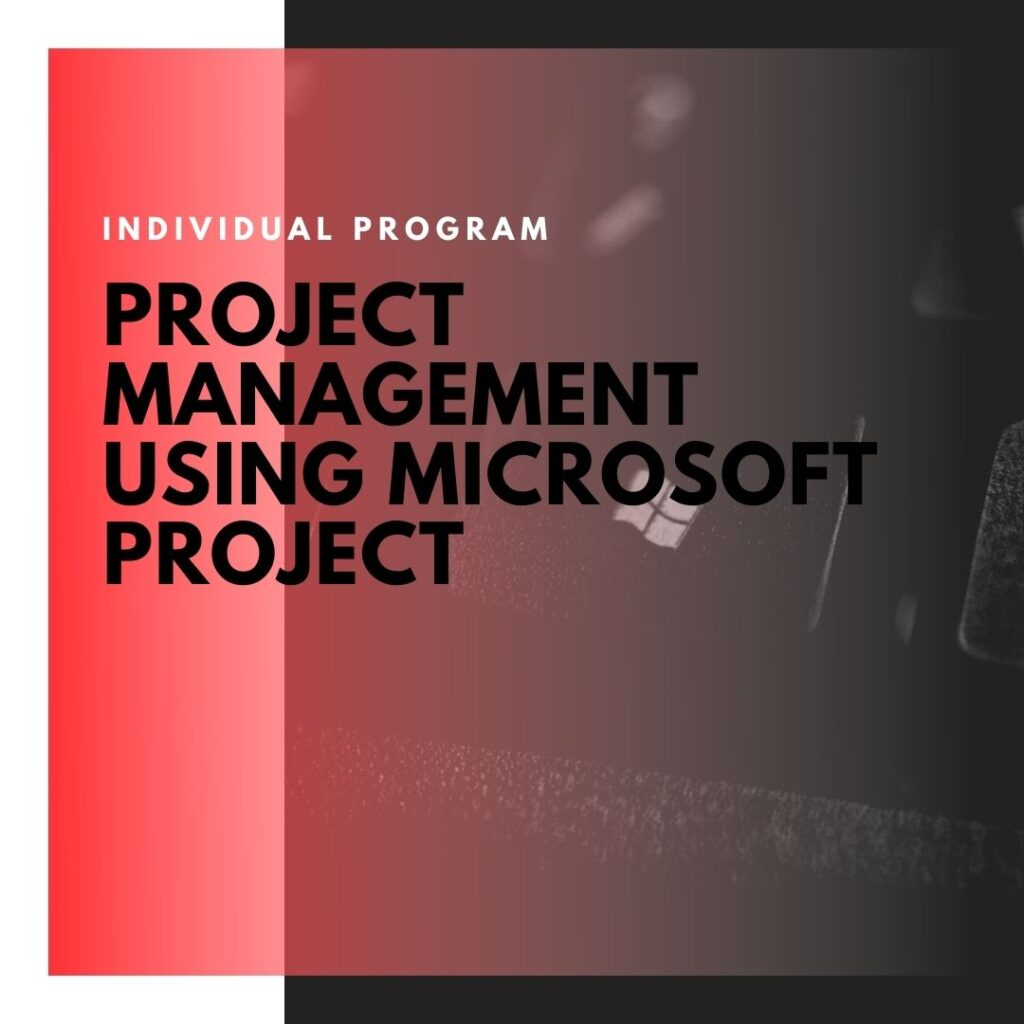 Institute of Technology - In Canada - ITD Canada - Project management using Microsoft project