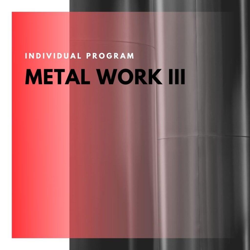 Institute of Technology - In Canada - ITD Canada - Metal Work III