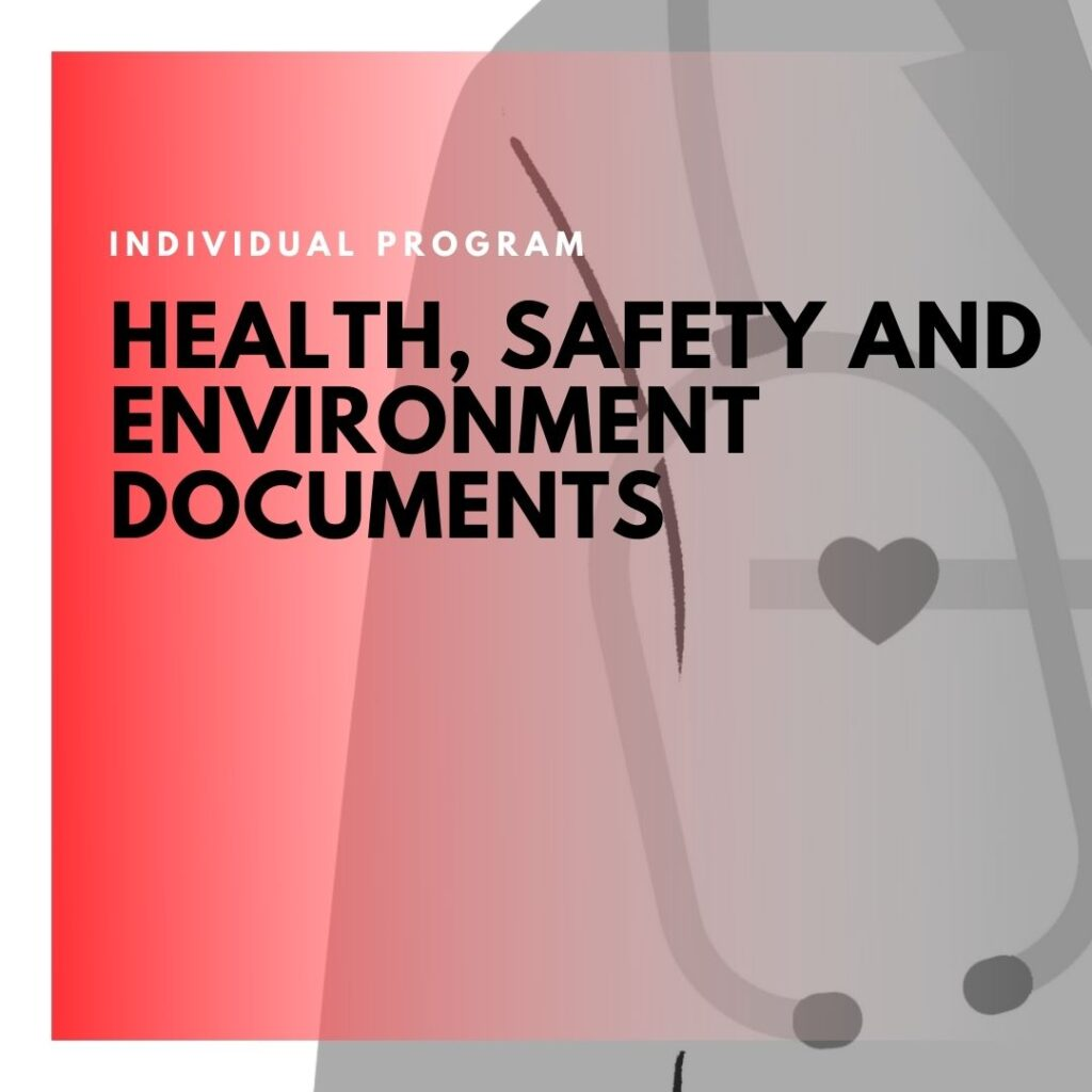 Institute of Technology - In Canada - ITD Canada - Health safety & environment documents