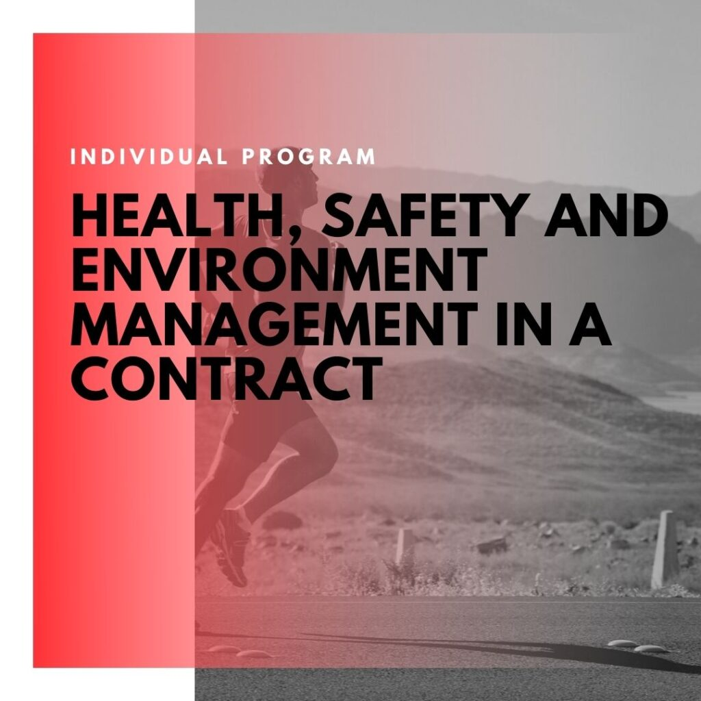 Institute of Technology - In Canada - ITD Canada - Health safety & environment management in a contract