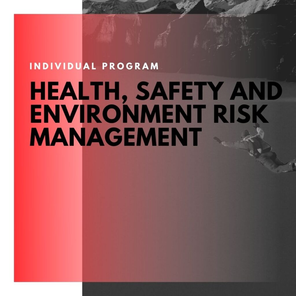 Institute of Technology - In Canada - ITD Canada - Health safety & environment risk management