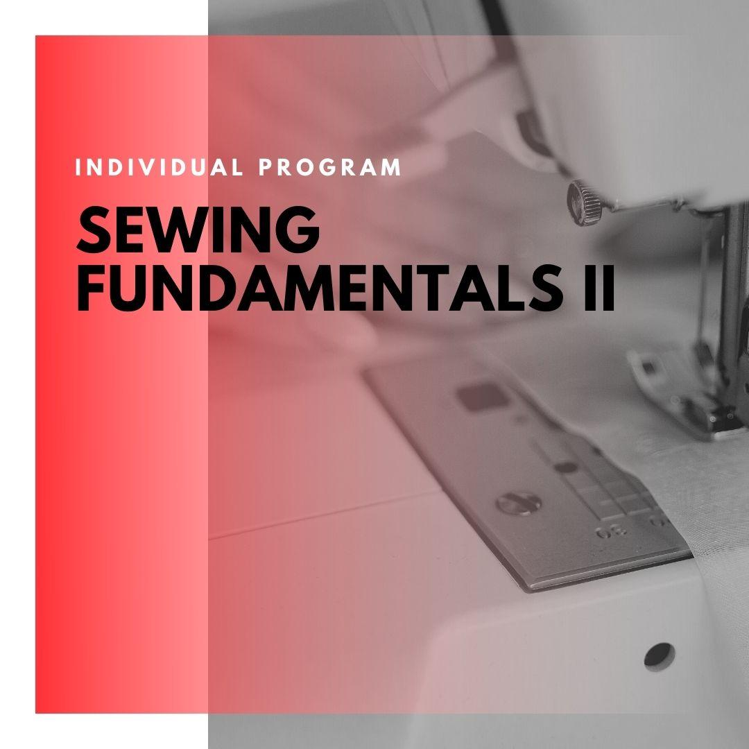 ITD Canada - Sewing Fundamentals II