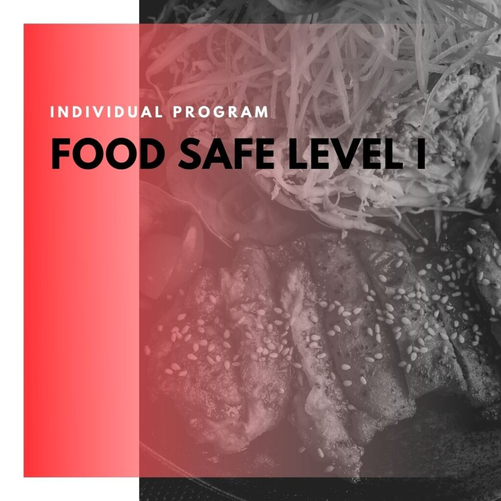 Institute of technology - In Canada - ITD Canada - Food Safe Level 1